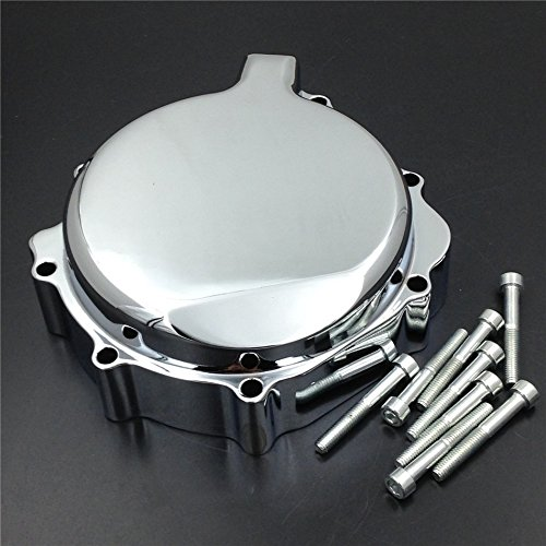 - XKMT-Custom aluminium stator cover Compatible With 2001-2003 Suzuki GSXR 600 2000-2003 GSXR750 Chromed [B00YYS8AB0]