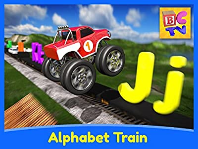 Alphabet Train - Learn ABCs with Vehicles and Animals for Kids