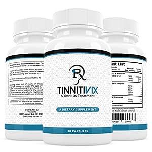 Tinnitivix Effective Natural Tinnitus Treatment  Tinnitus Relief  Stop Your Ringing Ears Fast (30 Cap)