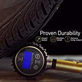 """Digital Tire Inflator / Pressure Gauge (200 PSI) - Car Tire Inflator & Deflator Gun, with 3 Different Air Chuck accessories + 1/4"""" NPT for Truck, Automobile and Motorcycle by Vondior"""