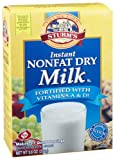Sturm's Instant Non-Fat Dry Milk Mix, 9.6-Ounce Boxes (Pack of 6)