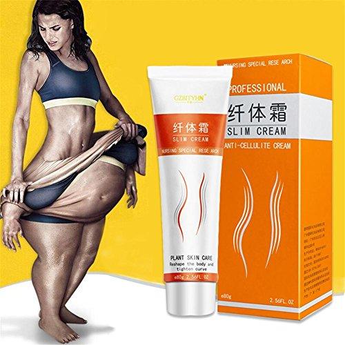 - 80 g Slimming Cream,Slim Extreme Massage Cream for Slim S Curve Body Shaping/Waist Slimming/Body Lotion Abdominal Beautiful Legs Skin Firming