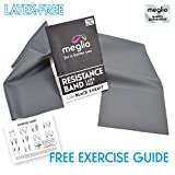 Latex Free Resistance Bands 1.2 & 2 Metre. Exercise Bands for Physiotherapy, Strength Training &...