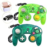 Koalud 2 Packs Classic Wired Gamepad Controllers for Wii Game Cube Gamecube console(Moss green and Deep green) Review