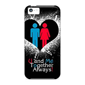 New Fashionable Lashanda Ame Nelson Cvxusxu4723ZnFBb Cover Case Specially Made For Iphone 5c(u And Me)