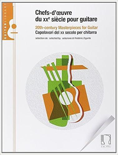 Téléchargements gratuits de livres électroniques Chefs-d'uvre du XXe siècle pour guitare PDF iBook PDB B00LC4HIG2