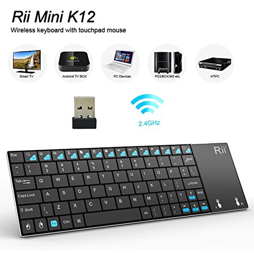 Rii Stainless Wireless Rechargable Raspberry