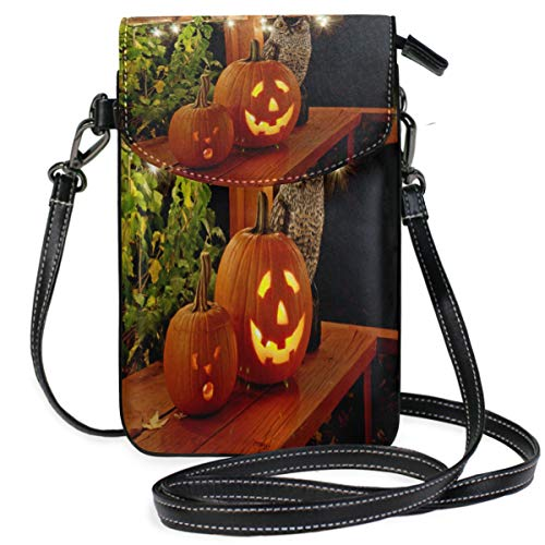 Phone Purse Mini Cell Phone Pouch Halloween Pumpkins for -