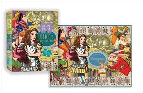 Book Alice in Wonderland Puzzle: 500-piece Puzzle