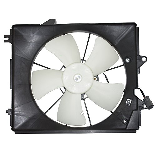 Passengers Radiator Cooling Fan Motor Shroud Assembly Replacement for Honda Odyssey 19015-RGL-A01 HO3115128