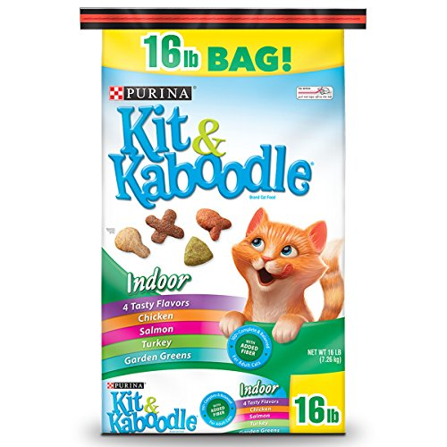 Purina Kit & Kaboodle Indoor Dry Cat Food; Indoor - 16 lb. Bag