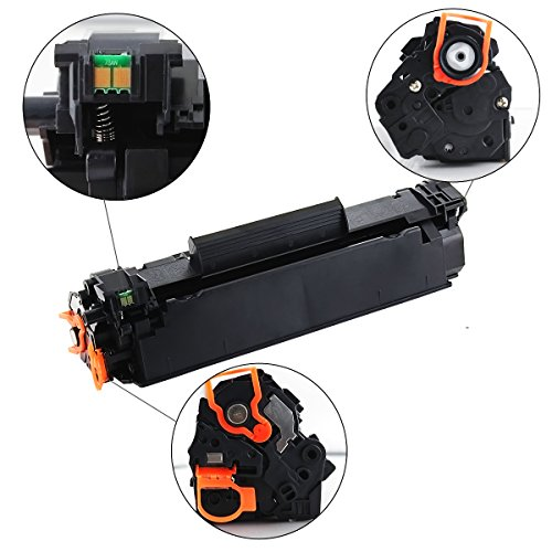 V4INK 3 Packs Compatible Canon 128 toner HP CE278A 78A Toner Cartridge for Canon imageclass D530 D550 MF4770n MF4570dw FaxPhone L100 L190, MF4770N MF4450, HP LaserJet P1606dn P1566 P1560 M1536dnf Photo #8