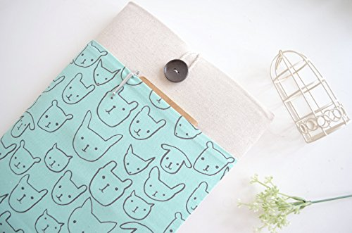 Cats-Laptop-Sleeve-Case-Custom-Sized-Cover-to-Fit-Any-Apple-MacBook-Chromebook-or-Laptop
