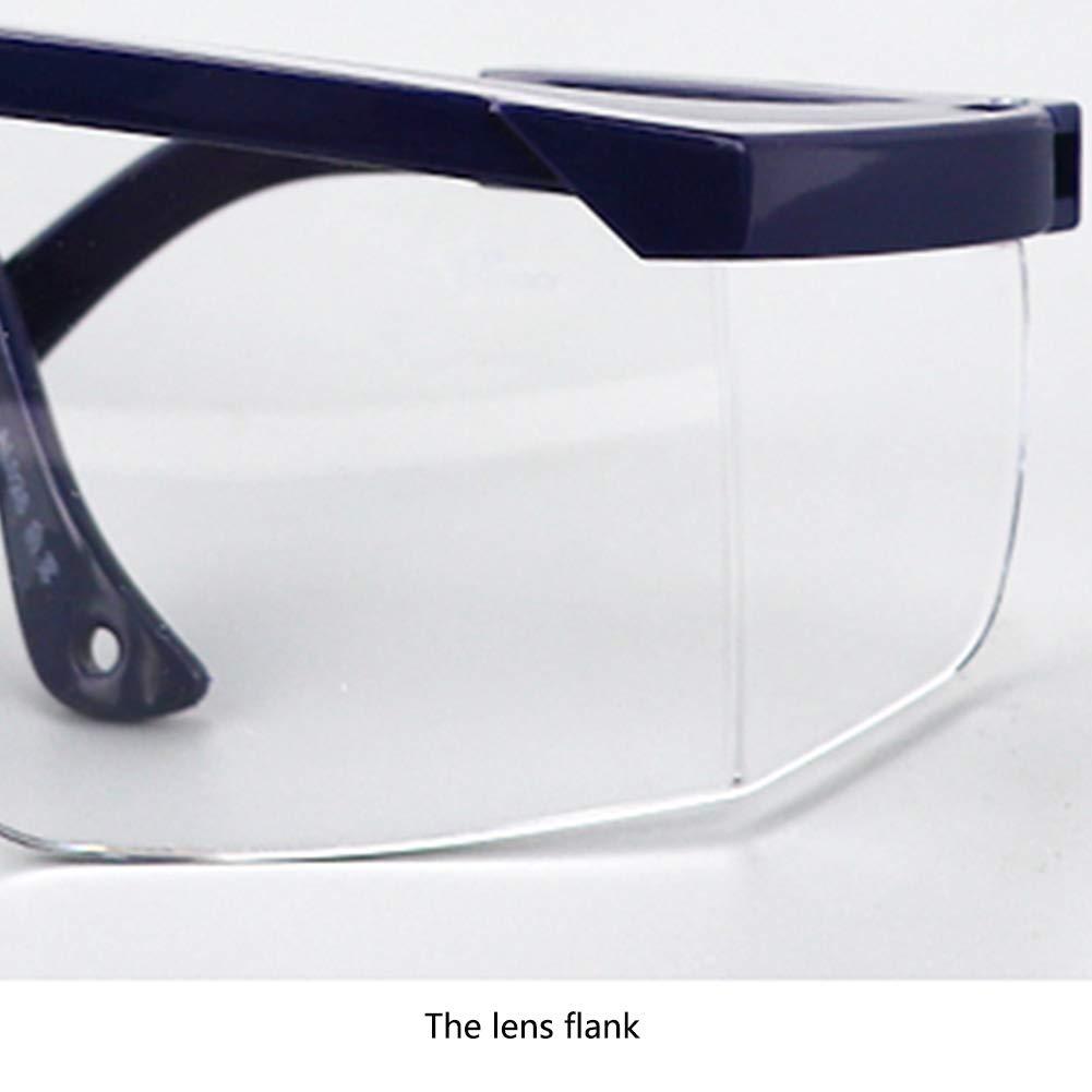 Gafas de seguridad Gafas anti-UV Limpiaparabrisas antideslizante Gafas a prueba de arena Gafas de seguro laboral (black) - - Amazon.com
