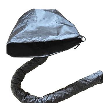 Drying Hoods Secadores De Casco Secador De Pelo Gorro De Pelo Seco Cap Impermeable Portátil Cap Bonete Secador De Cabello Accesorio Sin Electricidad Negro ...