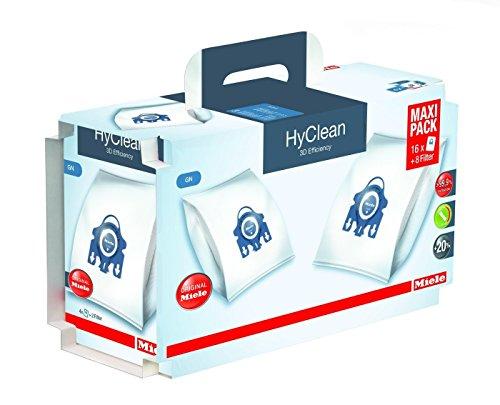 1 Original Miele Maxipack GN HyClean 3D für Miele S 8340 EcoLine Premium-Edition von Staubbeutel-Profi®
