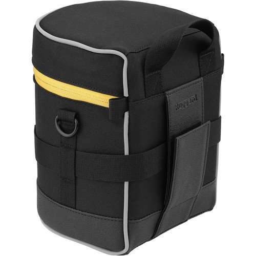 Ruggard Lens Case 6.0 x 4.5'' (Black) by Ruggard