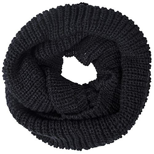 Oryer Womens Knit Infinity Scarf Chunky Winter Warm Soft Circle Loop Thick Scarf