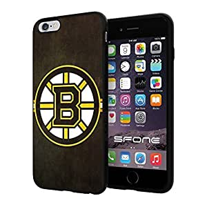 """Boston Bruins NHL, #1336 iPhone 6 Plus (5.5"""") I6+ Case Protection Scratch Proof Soft Case Cover Protector"""