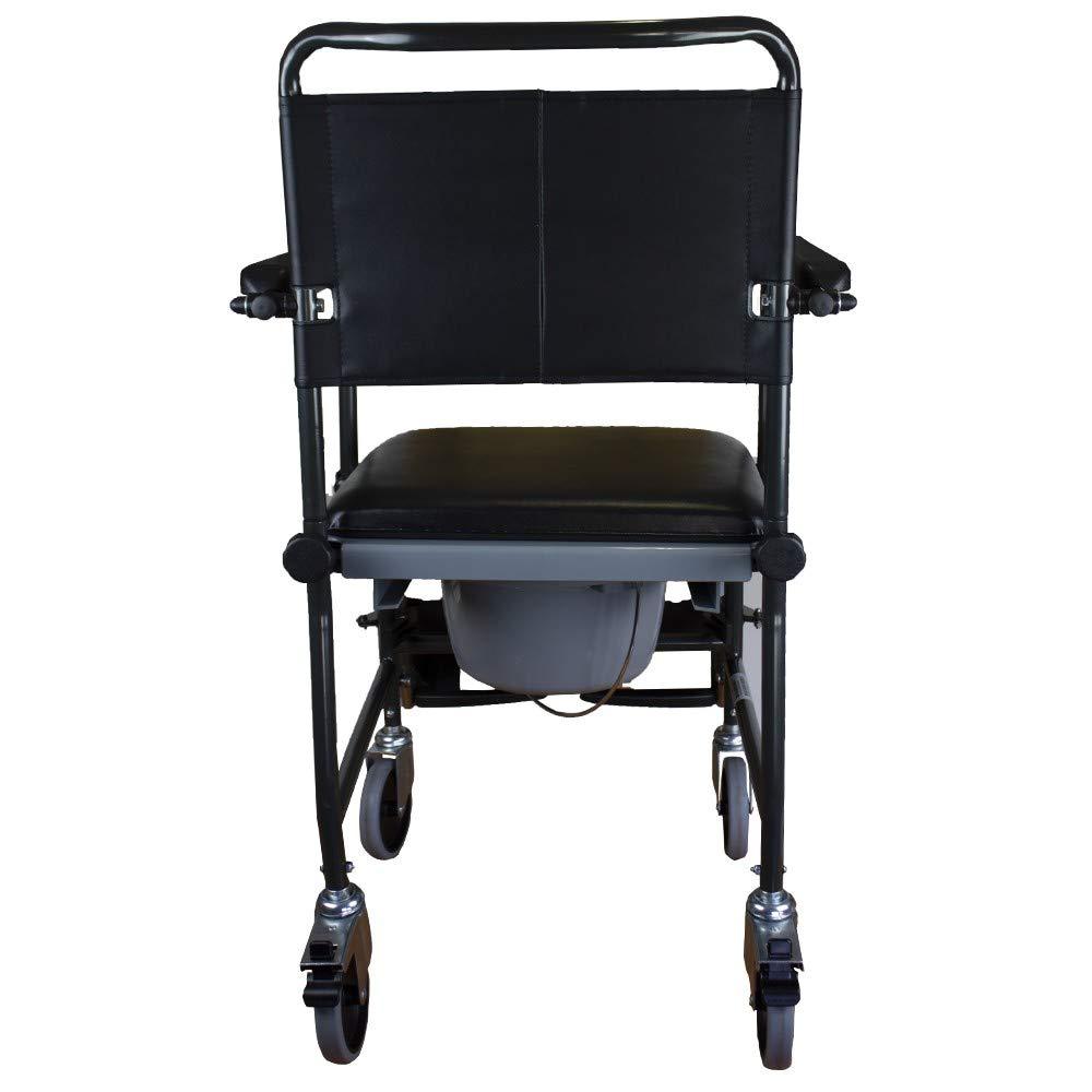 Invacare Silla de ruedas WC con inodoro 2 ruedas con freno Cascata: Amazon.es: Salud y cuidado personal