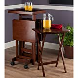 Winsome Isabelle Snack table, Walnut