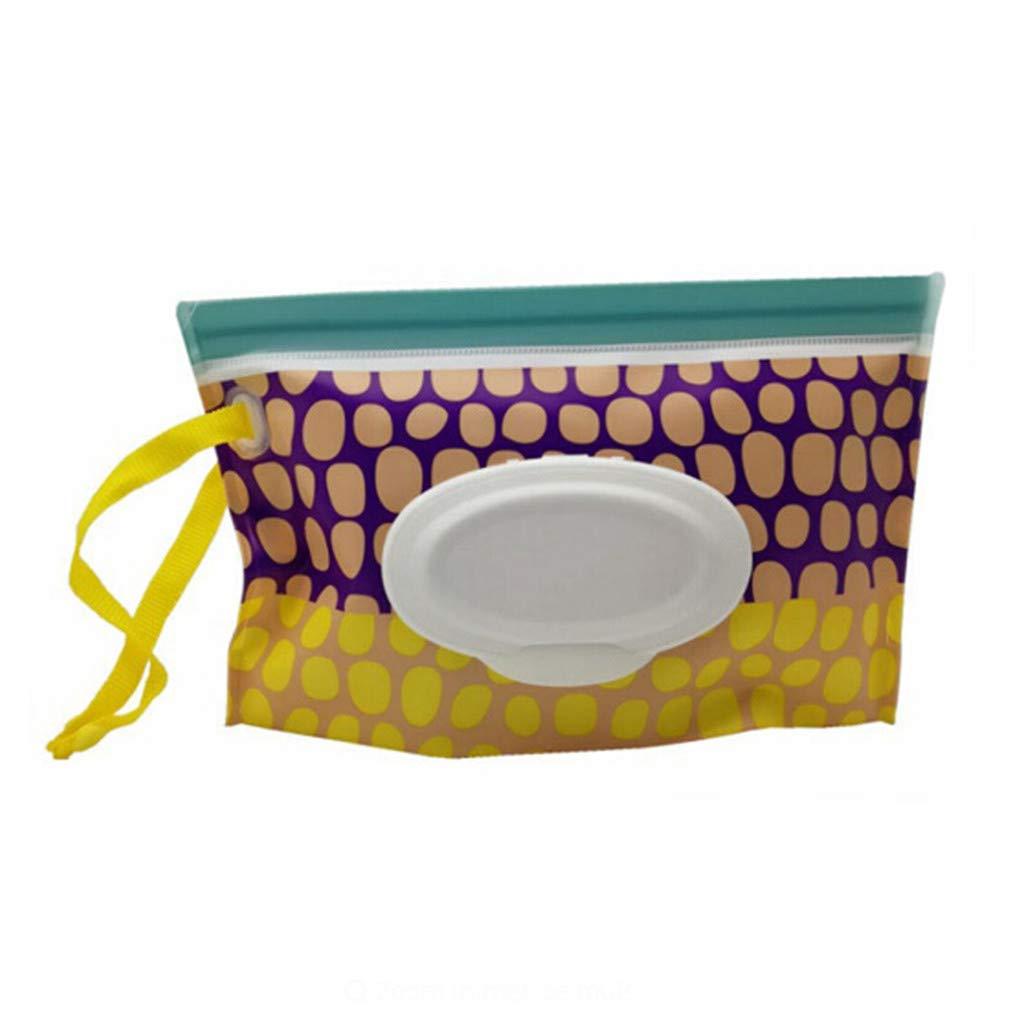 VWH Wet Wipes Bo/îte distributrice Sac pour Papier essuie-Tout Bo/îte pour Serviettes de Toilette Lingettes Propres /Étui de Transport