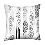 Geometric Decorative Throw Pillow Covers Square Cushion Covers Outdoor Couch Sofa Home Pillow Covers 20x20 Inch