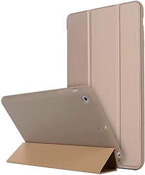 Estuche para iPad Mini 3/2/1 - Protector de contraportada Mate Transparente Ligero y Delgado Shell Shell Compatible con Auto Wake/Sleep para Apple iPad Mini 1 / Mini 2 / Mini 3, Gold: Amazon.es: Electrónica