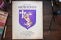 Custom House Sigil - Family shield, motto and banner -11 \