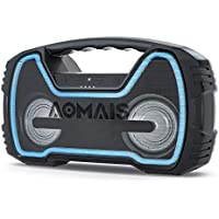 AOMAIS 25W Bluetooth Speakers with HD Stereo Sound & Deep...