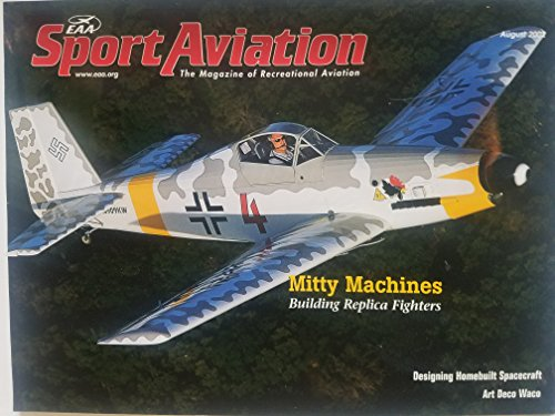 EAA Sport Aviation, August 2002 - Mitty Machines: Building for sale  Delivered anywhere in USA