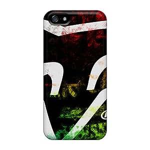RitaSokul Iphone 5/5s High Quality Hard Phone Covers Allow Personal Design Lifelike Fox Racing Skin [vlf4055EAgP]
