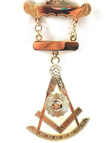 Past Masters Jewel (DPM001 Jewel Past Master with double engraving bar)