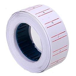 3 X 10 Rolls 6000 Pieces of Label Paper for Mx-5500 Price Gun Labeller