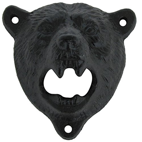 wall bear bottle opener - 9