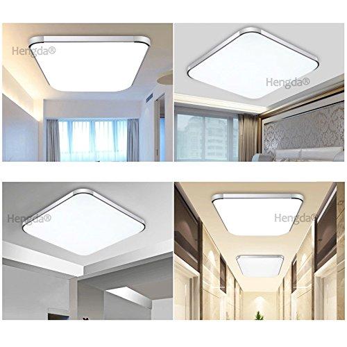 hengda® 36w led deckenleuchte modern deckenlampe 2700k-3500k ... - Deckenlampen Wohnzimmer Modern