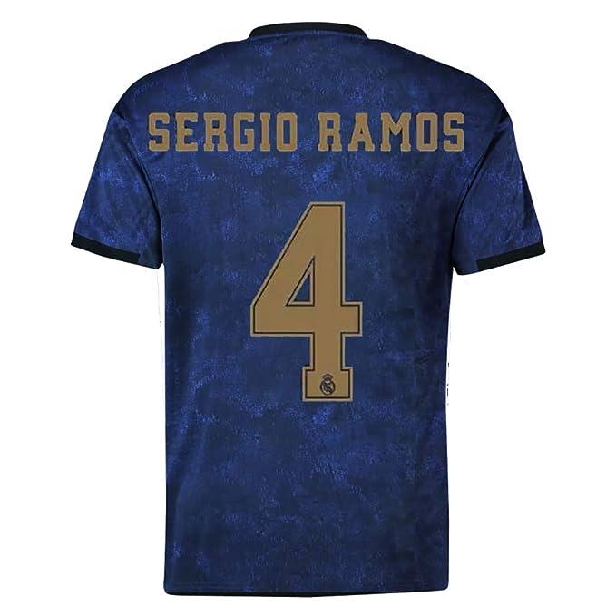 size 40 d64aa e5562 Amazon.com: 19-20 Season Real Madrid Away Football Jerseys ...