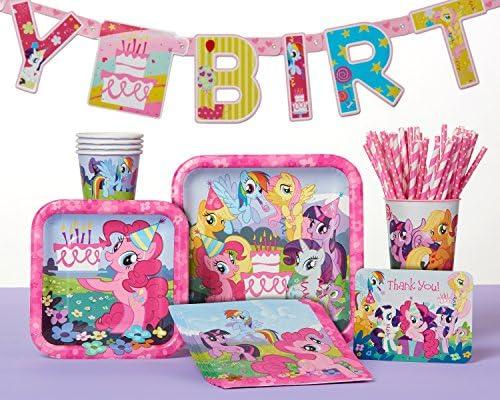 American Greetings My Little Ponyプラスチックカップ用紙、16オンス