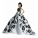 Doll Clothing Lace Gown For 11'' Dolls Handmade Sweet Wedding Gown