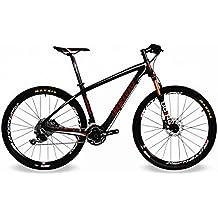 "BEIOU Carbon Fiber 27.5 Mountain Bike 10.7kg/29"" Hardtail Bicycle 2.10"" Tires Shimano DEORE M610 30 Speed XC/Trail MTB 650B/29er T800 Ultralight Frame Matte 3K CB020"