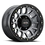 Vision Nemesis 18x9 Black Wheel / Rim 6x5.5 with a 0mm Offset and a 106.2 Hub Bore. Partnumber 111-8983MB0