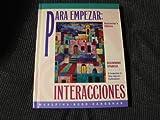 Para Empezar : Interacciones and Exploracions, McAlpine, David and Book, Leon, 0070449791