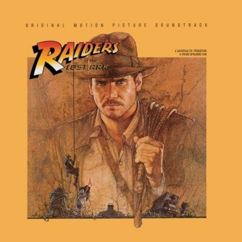 CD : INDIANA JONES-RAIDERS OF O.S.T. - Raiders Of The Lost Ark (original Soundtrack) (Germany - Import)