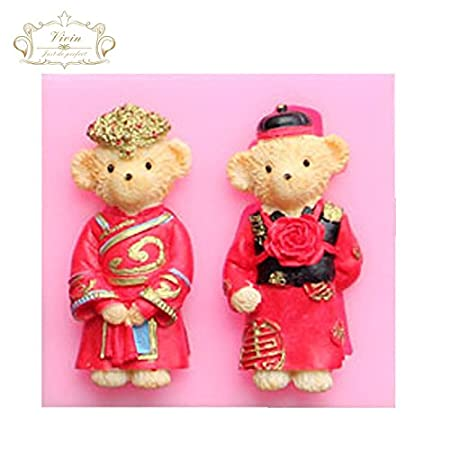 Teddy Bear - Oso China diseño de disfraz de boda de estilo antiguo ...