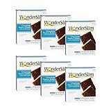 WonderSlim High Protein Snack Bar/Diet Bars - Chocolate Peanut Butter (7ct) 6 Box Value-Pack (Save 10%) - Trans Fat Free, Aspartame Free, Kosher, Cholesterol Free