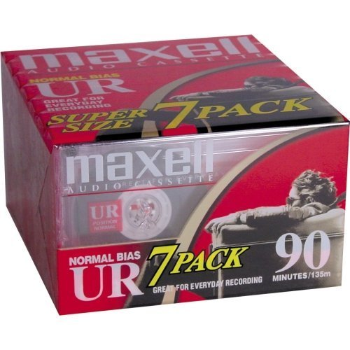 Maxell Ur Type I Audio Cassette . 7 X 90Minute . Normal Bias ''Product Type: Audio/Video Media/Audio Cassettes''