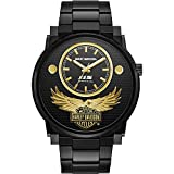 Harley-Davidson Men's 115th Anniversary Limited Edition Black Watch 78A119