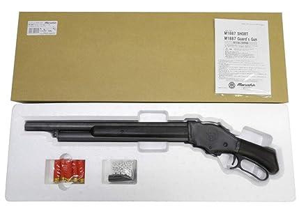 マルシン 6mmBB ガスガン M1887 ショート 木製ストック付 エクセレントHW