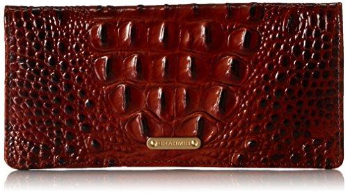 Brahmin Ady Wallet, Pecan, One Size by Brahmin
