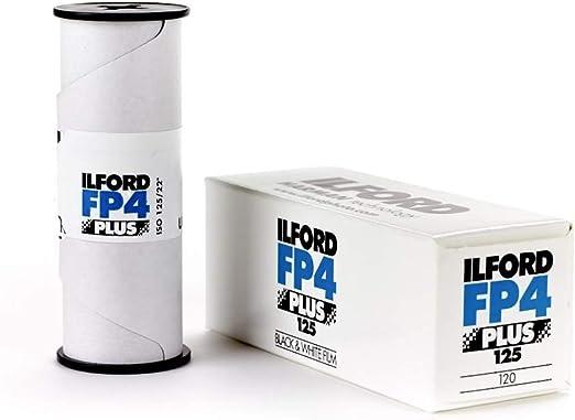 Ilford Fp4 Plus 120 Schwarz Weiß Negativ Filme Kamera